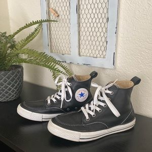 Converse all leather classic all star high tops